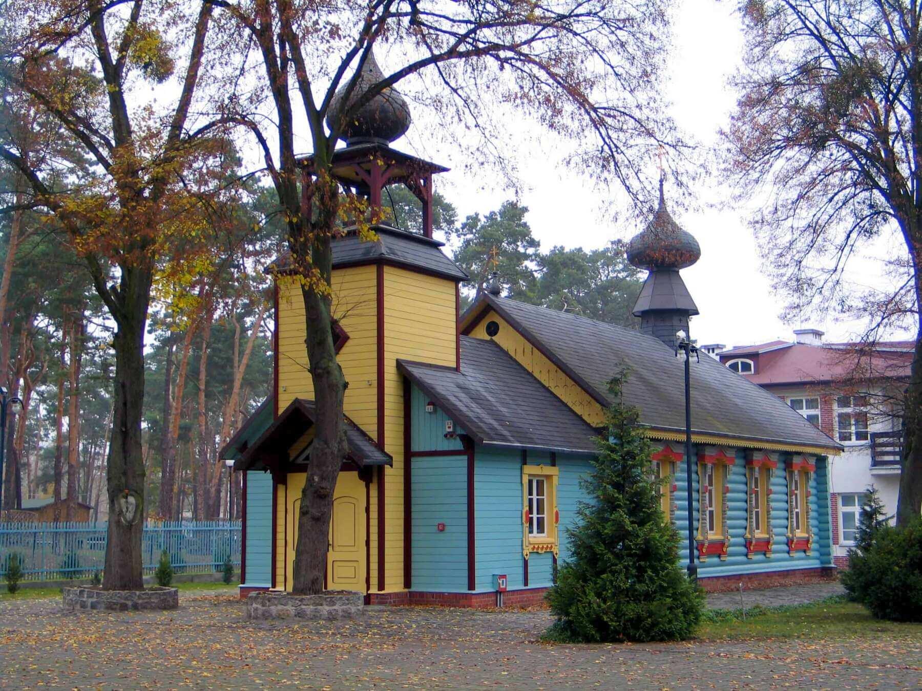 ciechocinek - Cerkiew św. Michała Archanioła